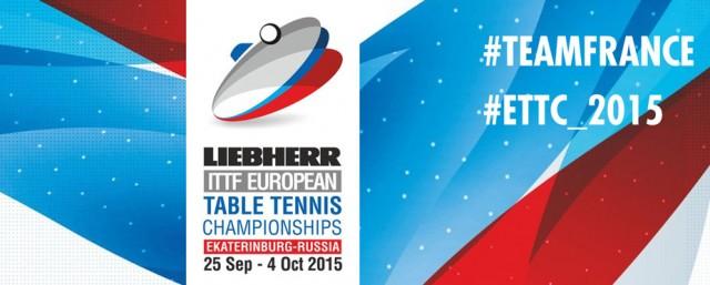 Championnat d'Europe de Tennis de Table 2015