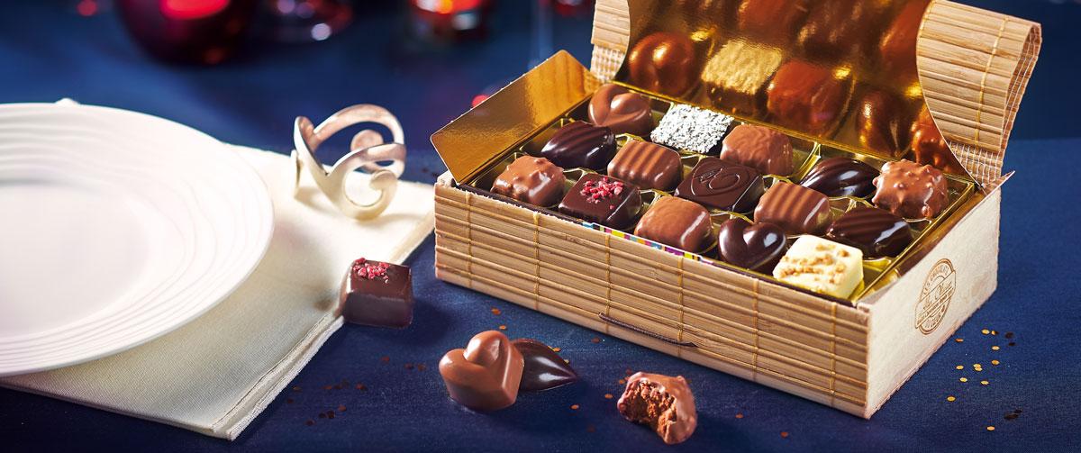 Des chocolats de noel au ping pong