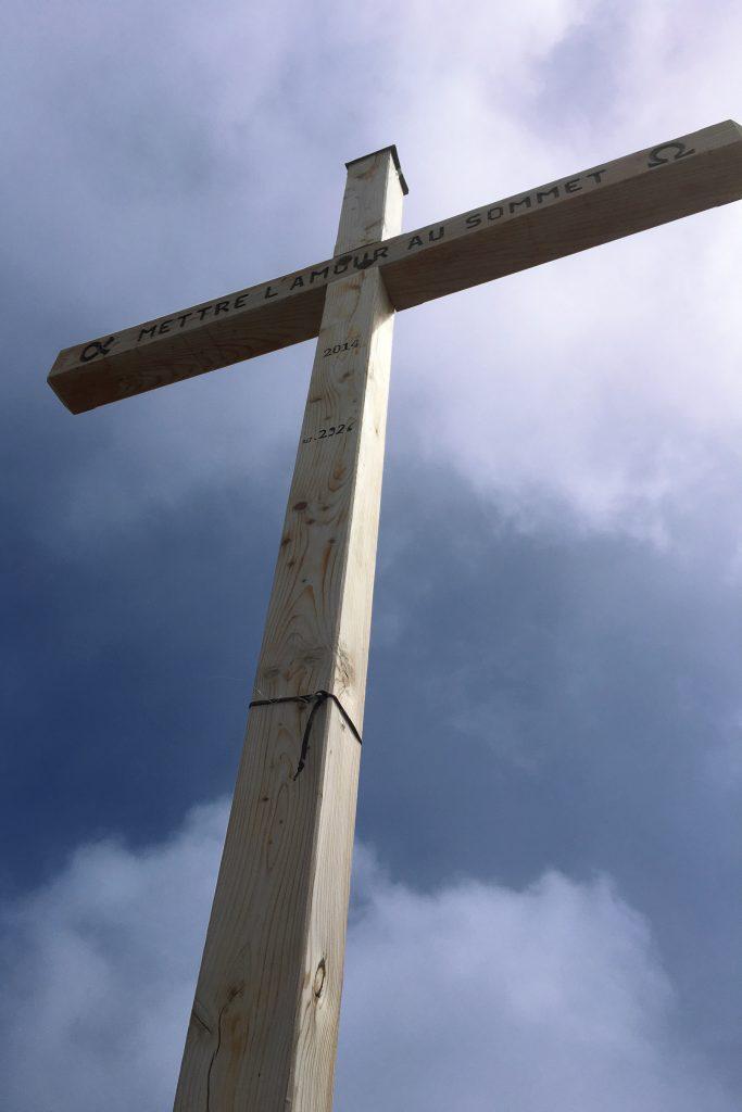 La croix de Belledonne