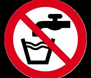 Eau non potable à la salle des sports de l'Abergement-Clémenciat